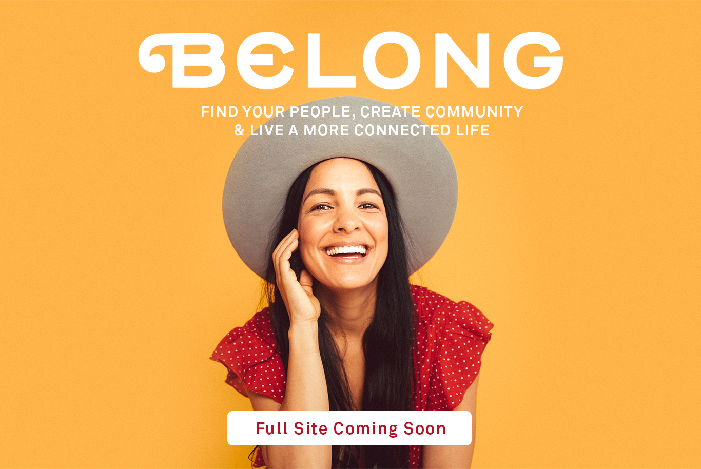 Belong Book Website Coming Soon!